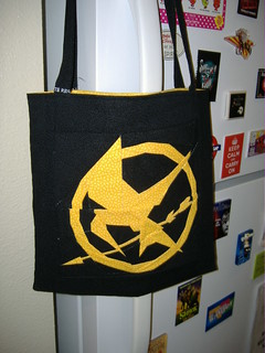 Hunger Games Paper Pieced Bag