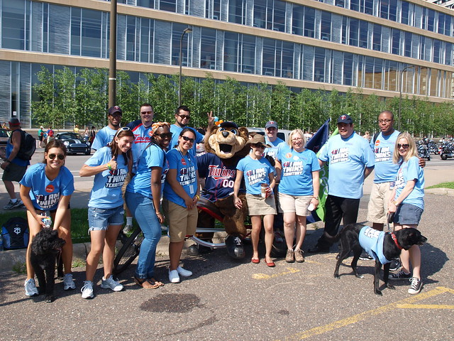 The Minnesota Twins at TC Pride