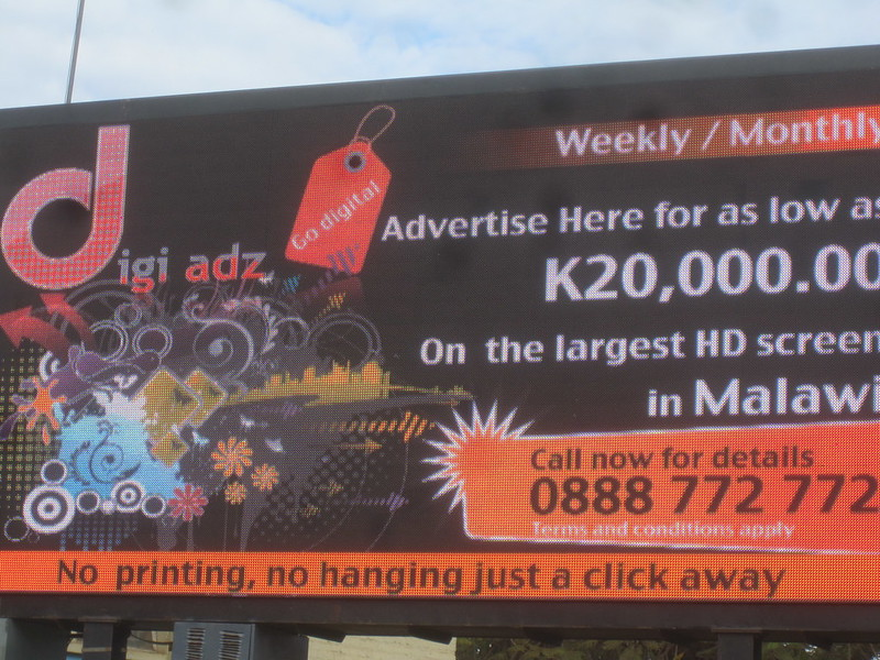 Malawi Largest HD Screen Africa
