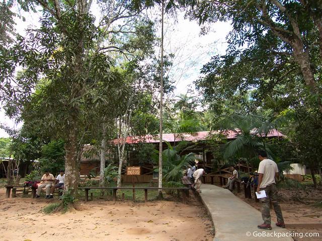 Rainforest Expeditions headquarters in Puerto Maldonado