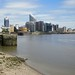 Docklands on the river