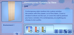 Contemporary Curtains by Dave