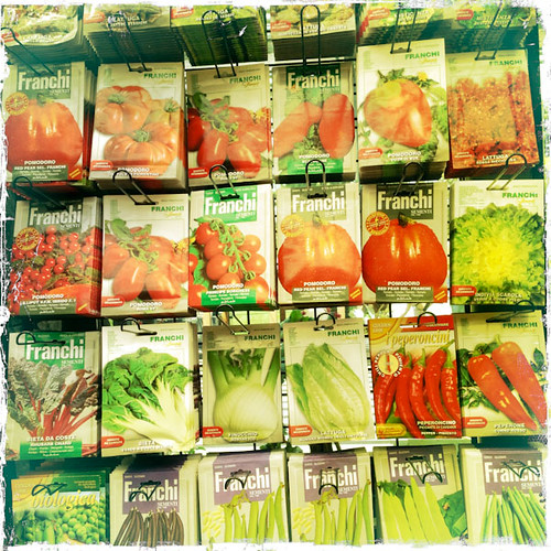 Ah, the Variety - Seed Packets at the NYBG