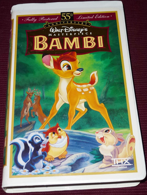 Bambi 1989 Vhs Pictures to Pin on Pinterest - PinsDaddy