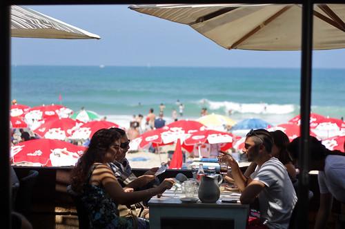 Tel Aviv beach scene
