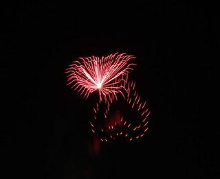 Fireworks: Heart Reflection