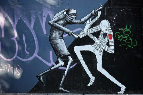 Phlegm x Know Hope. East Village Mural Addition.