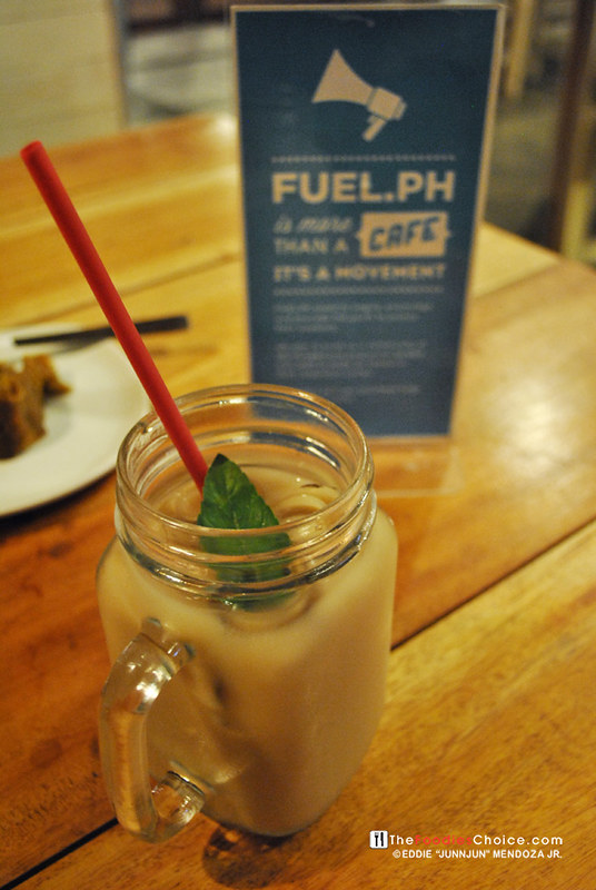 Mint Milk Tea at Fuel.ph Iloilo