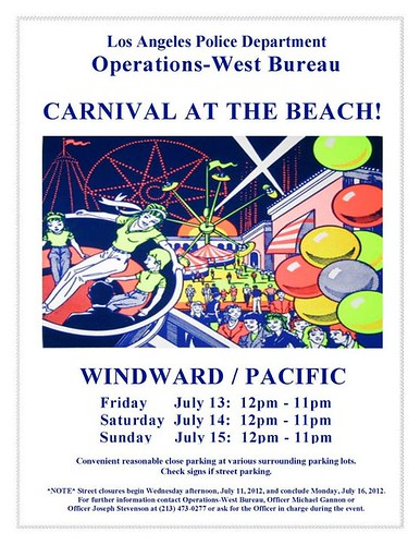 LAPD Carnival Venice Beach