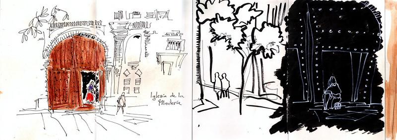 del cuaderno del IV de vuelta con el cuaderno; Zaragoza