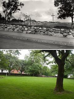 Gothenburg, Härlanda kyrkoruin, 1925 / 2012