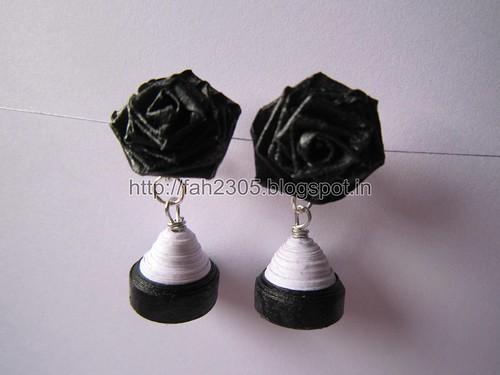 Handmade Jewelry - Paper Jhumka (1) by fah2305