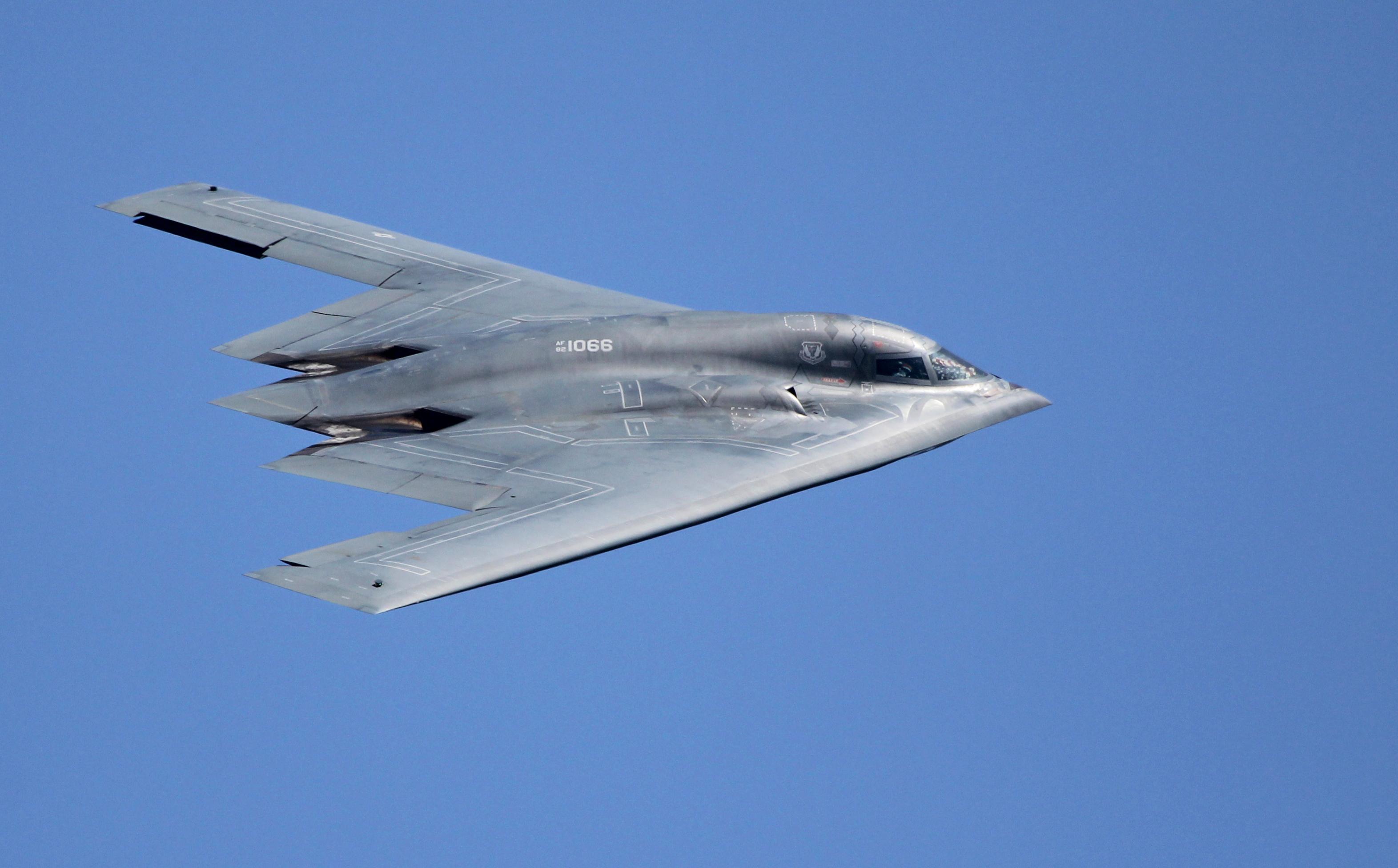 Northrop Grumman B-2 Spirit, Stealth Bomber, AV-1 - 82-106 ...