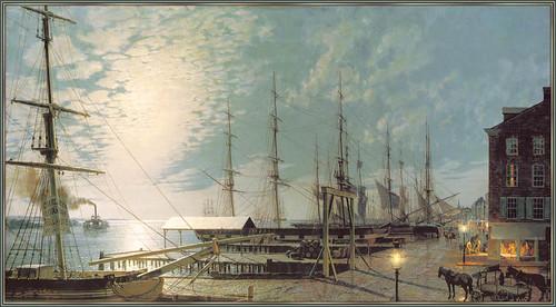 Moonlight_Over_The_Delaware_1835-Philadelphia
