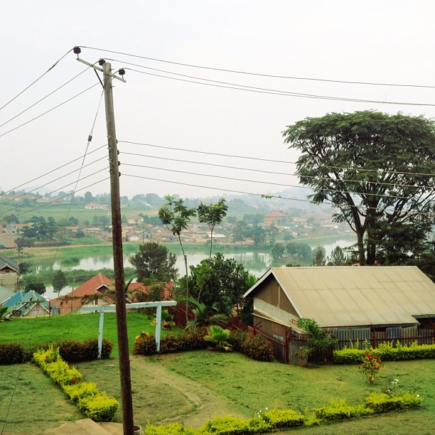 So, so beautiful here in Uganda.