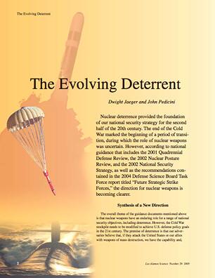The Evolving Deterrent