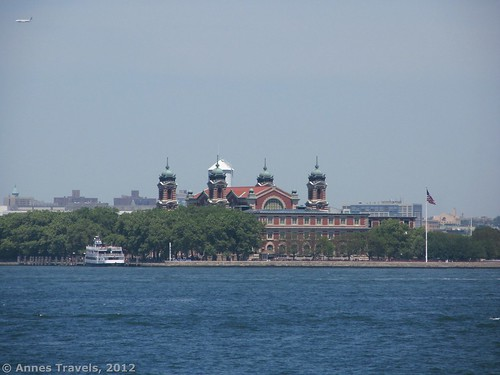 Ellis Island from the Staten Island Ferry