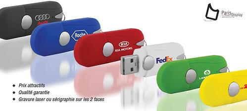 Clés USB publicitaire by encuentroedublogs