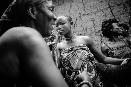 the dipo ceremony of the krobo girls in ghana by anthony pappone photographer