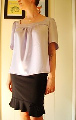 Lavender blouse 4