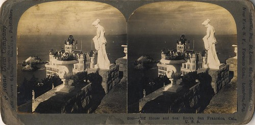 Cliff House and Seal Rocks, San Francisco, Cal. USA - circa 1901