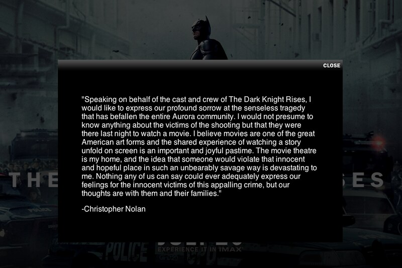 The Dark Knight Rises - The Official Site - English