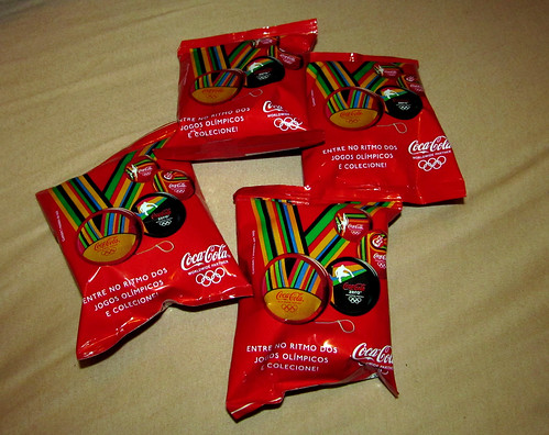 2012 Ioio promo London Olympics Coca-Cola Rio de Janeiro Brazil packs by roitberg