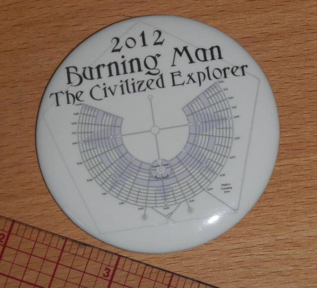 Button for Burning Man