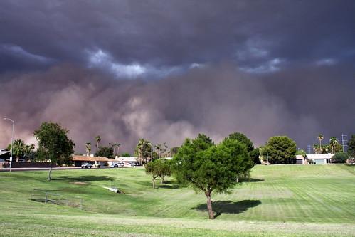 arizona phoenix desert az chandler duststorm mesa tempe haboob monsoonseason