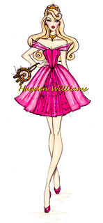 The Disney Divas collection by Hayden Williams: Aurora
