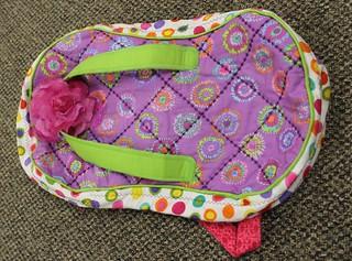 Columbus Modern Quilt Guild - Kathy's Flip Flop Bag