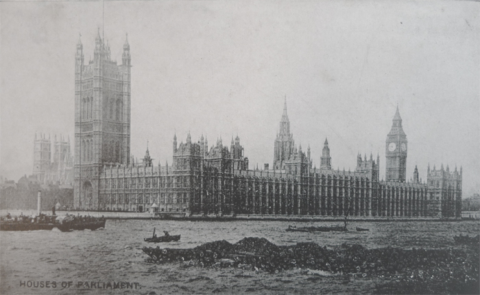 POSTKARTEN Project: Houses of Parliament