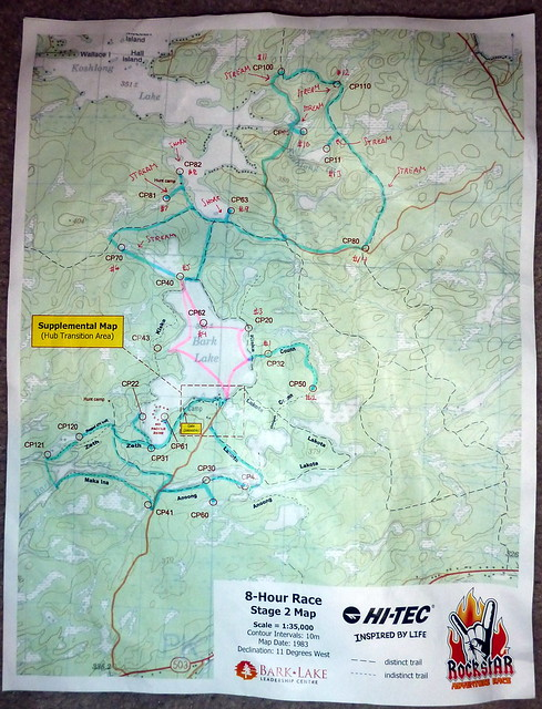 Trek and Paddle Map