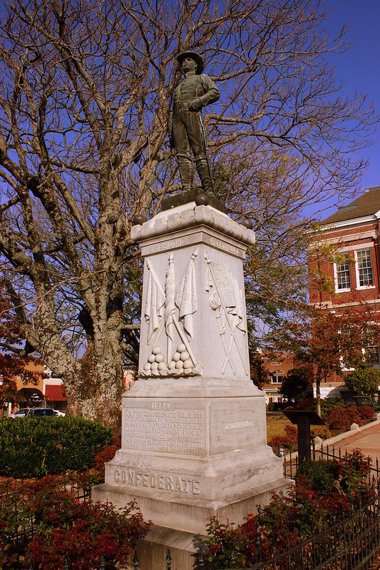 Confederate Statue - Covington, TN