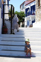 Alonissos island, Hora, the old town