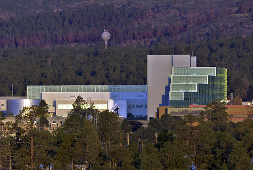 LANL buildings at Technical Area 3