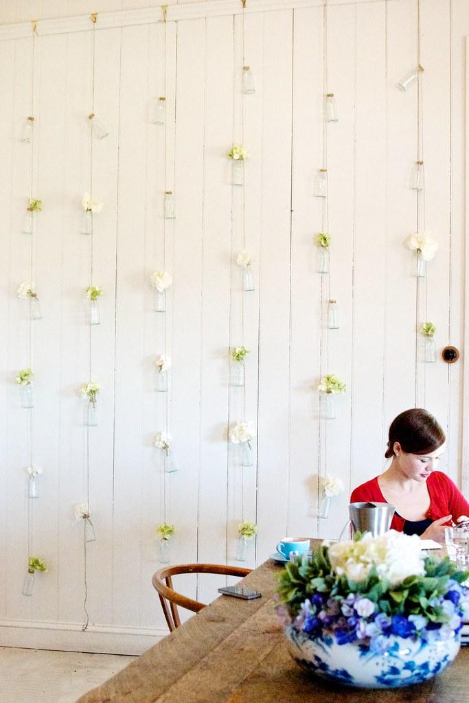 diy home flower wall