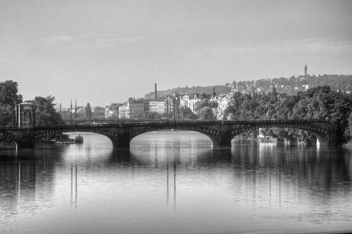 Charles Bridge on the Vltava