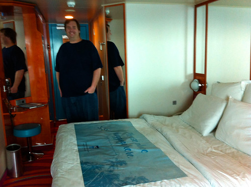 Norwegian Pearl Cabin - Blurry Mike