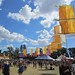 Yellow flags at WOMAD