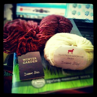 Look what arrived for #review this week! #yarn #knit #knitting #debbiebliss