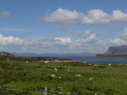 Mull, looking across Loch Scridain