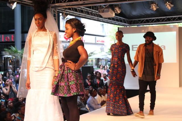 AFRICA FASHION WEEK LONDON: ELFRIDA DESIGNS
