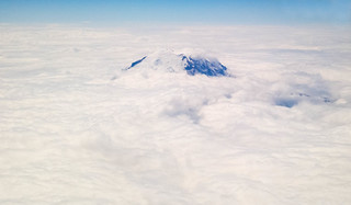 Rainier Above the Clouds