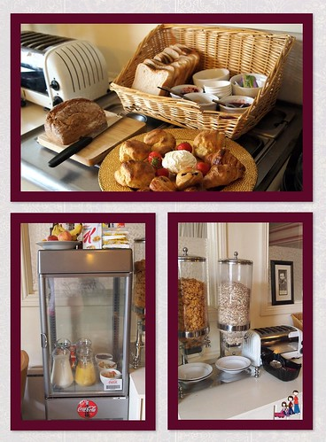 Breakfast Items at The Old Bank B&B in Bruff, County Limerick, Ireland