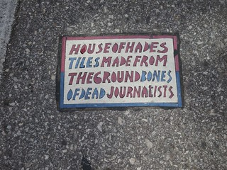 House Of Hades In St. Louis, MO Toynbee Tile