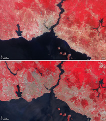 Landsat View: Istanbul, Turkey