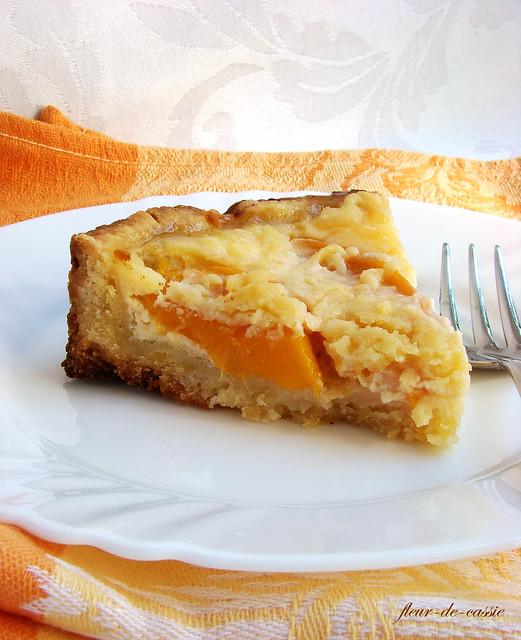 пирог персиковый Дори 4