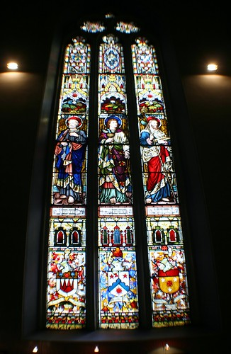 Stained Glass at Ramshorn Church