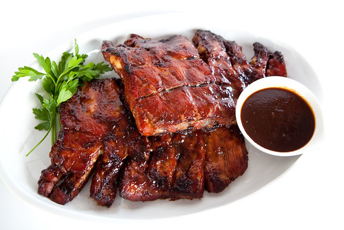 Chinese-style BBQ pork spare ribs